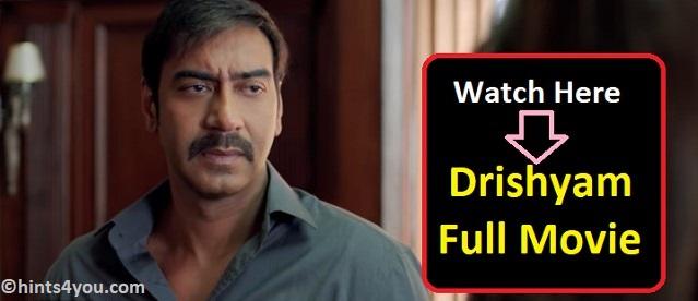 Drishyam: best Thriller Film of Bollywood