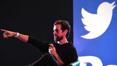 Twitter's CEO Jack Dorsey.