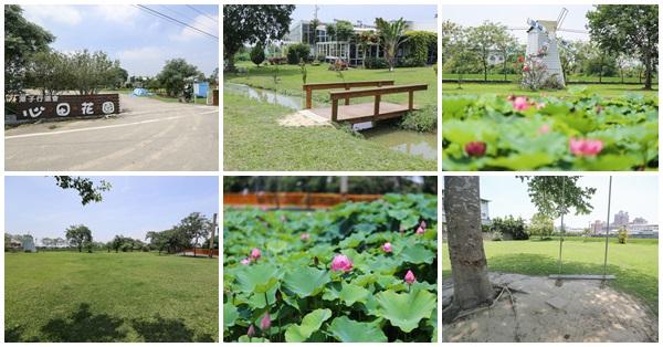 台中潭子|心田花園|蝶彩心田|白色教堂|荷花秘境|陽光草坪|親子景點|免費入園