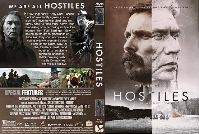 Hostiles DVD Cover