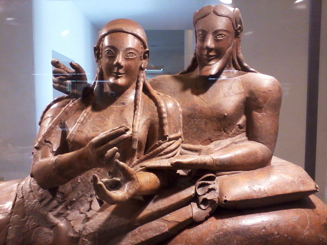 Seputura etrusca, Museu Etrusco de Roma