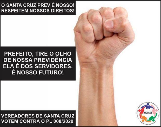 Sindicatos e associações de Santa Cruz do Capibaribe lutam contra projeto do prefeito que pode prejudicar servidores públicos