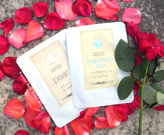 The Face Shop Hyaluronic Acid and Pearl Essential Sheet Mask