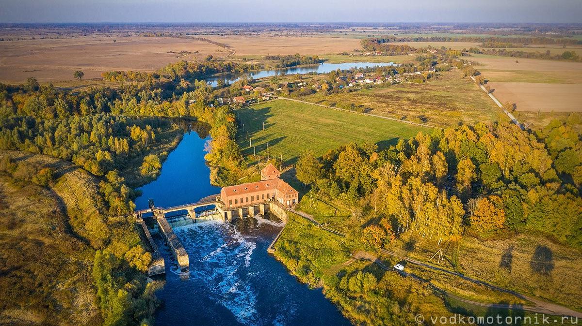 ГЭС-4 аэросъемка