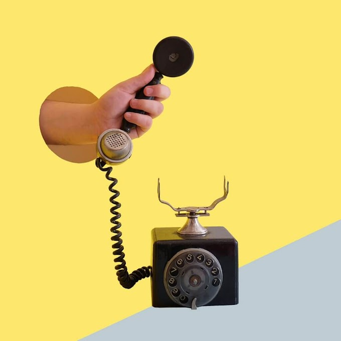 Old Telephone Illustration