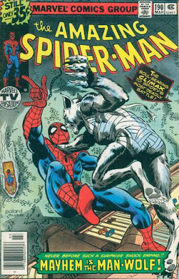 Amazing Spider-Man #190, Man-Wolf