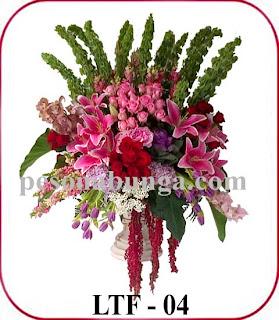 bunga vas mewah