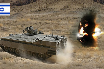 Israel Iron Fist : Teknologi Perisai APS Penghancur Rudal Anti-Tank
