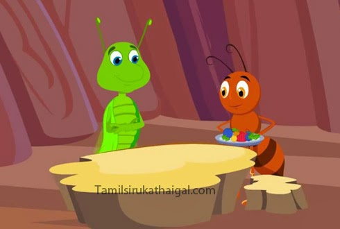 The Ant and the Grasshopper Aesop Moral Story 7