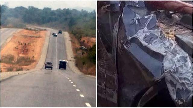 Photos from the accident scene enroute Abuja, No survivor(s) (Graphic photos)