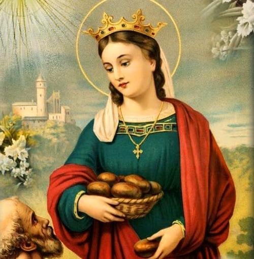Image result for saint elizabeth of hungary
