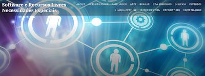 Software e recursos livres para necessidades educativas especiais