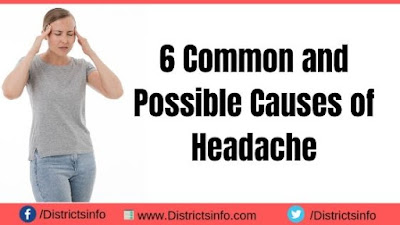 6 Common and Possible Causes of Headache