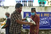 Aksi Kemanusiaan Anggota DPRD NasDem Loteng Berbagi Ratusan Paket Sembako