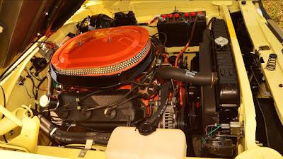 1969 Dodge Coronet Super Bee Hemi 426 cbi engine 01