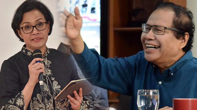 Rizal Ramli Sindir Sri: Kasian, Saking Rindunya 'Berprestasi', Jokowi Diberikan Laporan Ece-ece