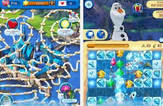 تحميل لعبة Frozen Free Fall برابط مباشر للاندرويد