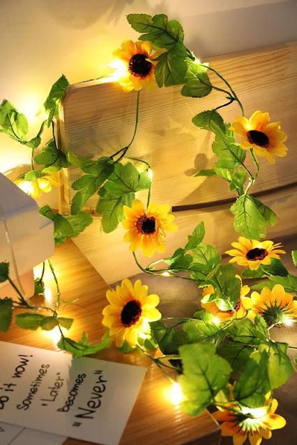 sunflower strings lights