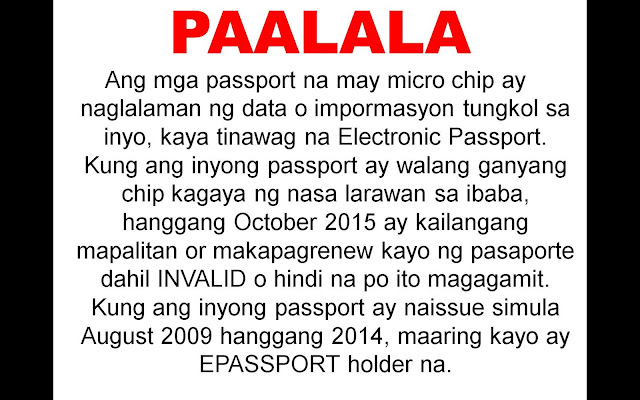GENERAL REQUIREMENTS The following are required for first-time passport applications: 1. Personal appearance 2. Confirmed appointment 3. Passport Fee 4. Duly accomplished application form. 5. Birth Certificate (BC) in Security Paper (SECPA) issued by the Philippine Statistics Authority (PSA) Alternatives: • If BC is not yet available: Certified True Copy (CTC) of BC issued by the Local Civil Registrar (LCR) and duly authenticated by PSA. • When entries are blurred/unreadable: Transcribed Birth Certificate from the LCR • If born abroad: Report of Birth duly authenticated by PSA 6. Valid picture IDs and supporting documents to prove identity GENERAL REQUIREMENTS FOR MINORS The following are required for first-time passport applications: 1. Confirmed appointment (except for 1 year old and below) 2. Personal appearance of the minor applicant 3. Personal appearance of either parent 4. Passports of parents 5. Original Birth Certificate of minor in Security Paper issued by PSA Alternatives: • If BC is not yet available: Certified True Copy of Birth Certificate issued by the Local Civil Registrar and duly authenticated by PSA. • If entries are blurred/unreadable: Transcribed Birth Certificate from the • If born abroad: Report of Birth duly authenticated by PSA is required if minor was born abroad 6. Document of identity with photo: • Options: School ID or Form 137 with readable dry seal • For minor applicants who never attended school: Notarized Affidavit of Explanation executed by either parent (if minor is a legitimate child) / by mother (if minor is an illegitimate child) detailing the reasons why the child is not in school 7. Marriage Certificate of minor's parents duly authenticated by PSA 8. Original and photocopy of valid passport of the person travelling with the minor