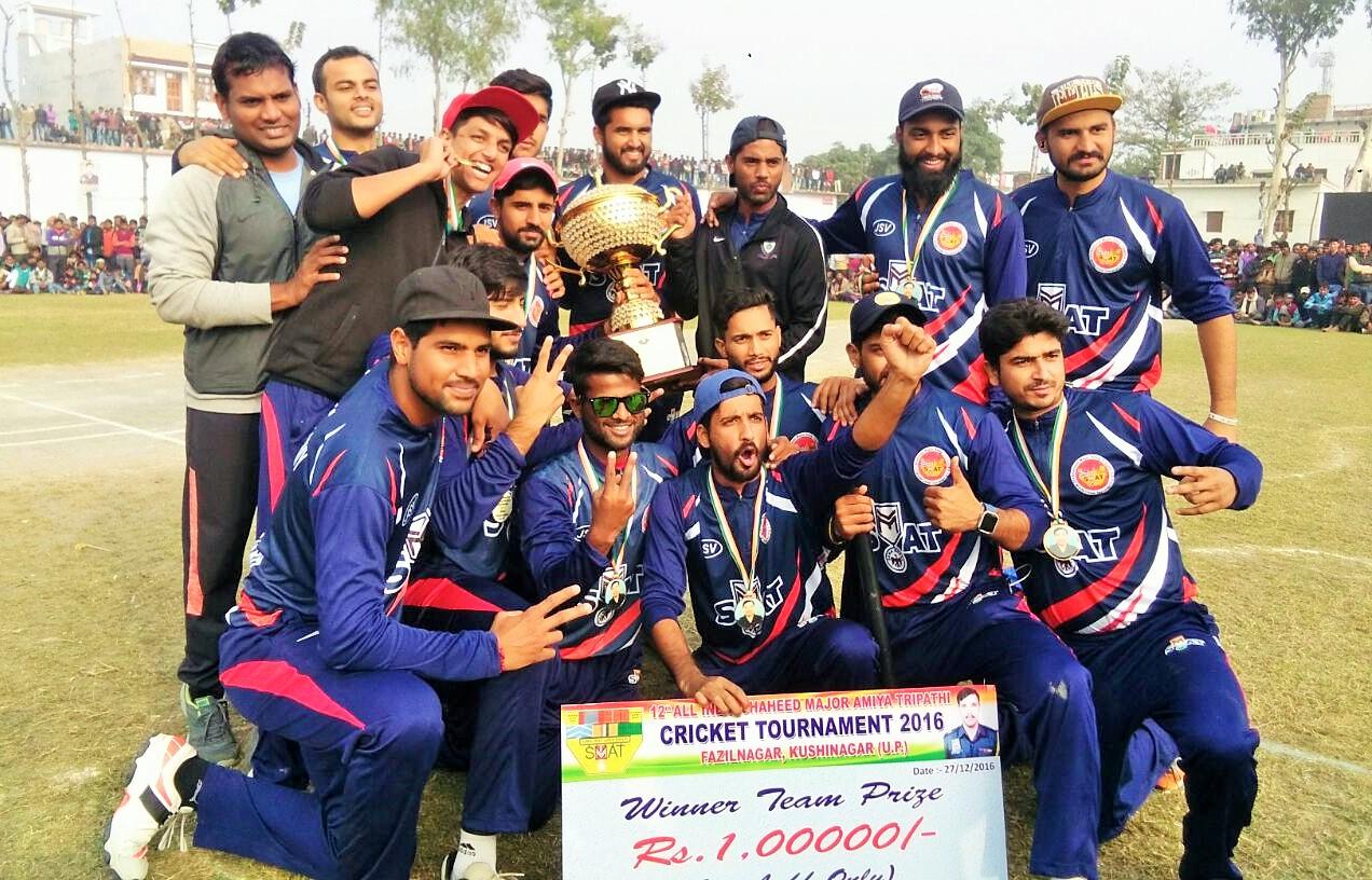 Minerva Academy bag Major Amey Tripathi Cricket Tournament