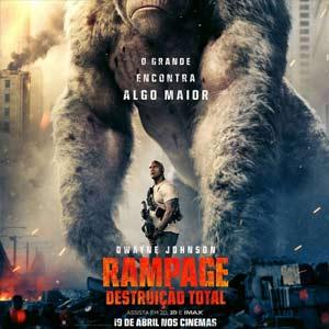 Poster do Filme Rampage - Destruição Total