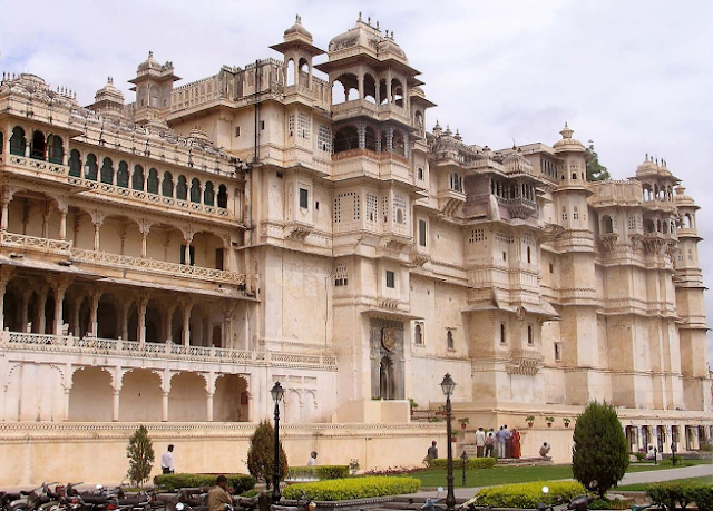 Wisata City Palace, India