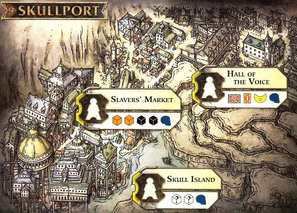 Scoundrels of Skullport: Skullport Board
