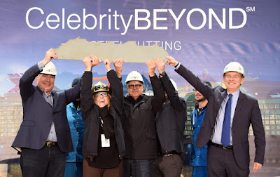Steel Cutting Ceremony for Celebrity Cruises' New Celebrity Beyond from France's Chantiers de l'Atlantique  Expected April 2021