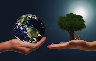 Save earth. Stop pollution. Save water. Grow plants.
