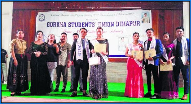 first ever Mr and Miss Gorkha Dimapur