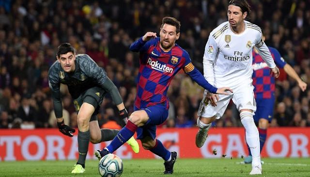 مباراة برشلونة & ريال مدريد اليوم السبت 24/10/2020 تعليق حفيظ الدراجي