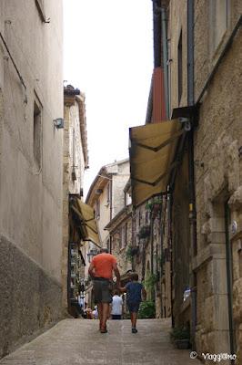Alcune vie medievali del centro di San Marino