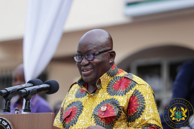 President Akufo-Addo Donates November Salary To Korle-Bu Accident Centre And Burns Unit Fund