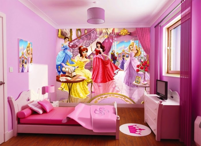 Do It Yourself Ideas And Projects 10 Fun Cartoon Character Kids Bedroom Wall Decoration