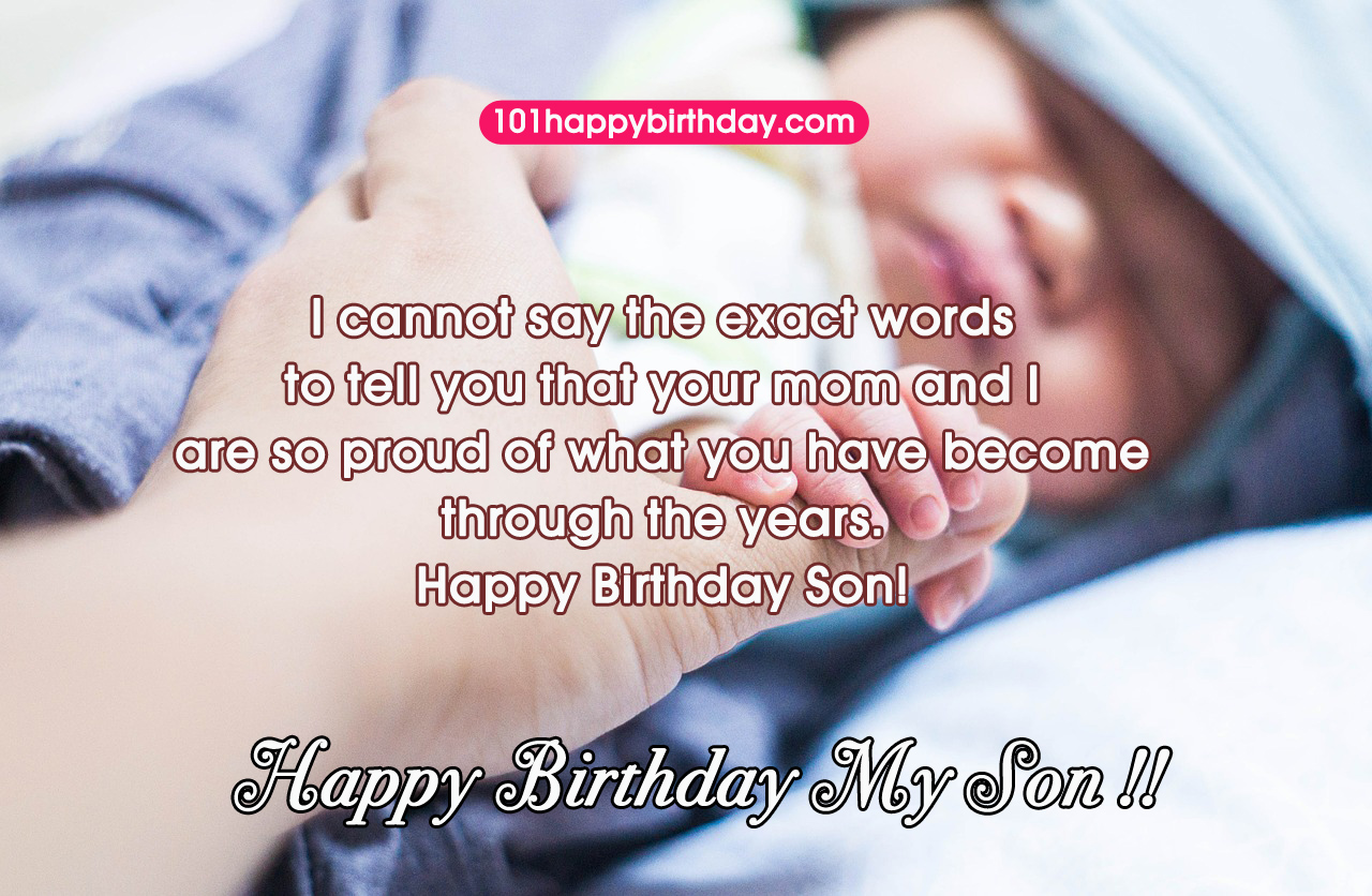 Mom To Son Quotes 29 Images Happy Birthday Wishes Quotes For Son And Wishes Cards