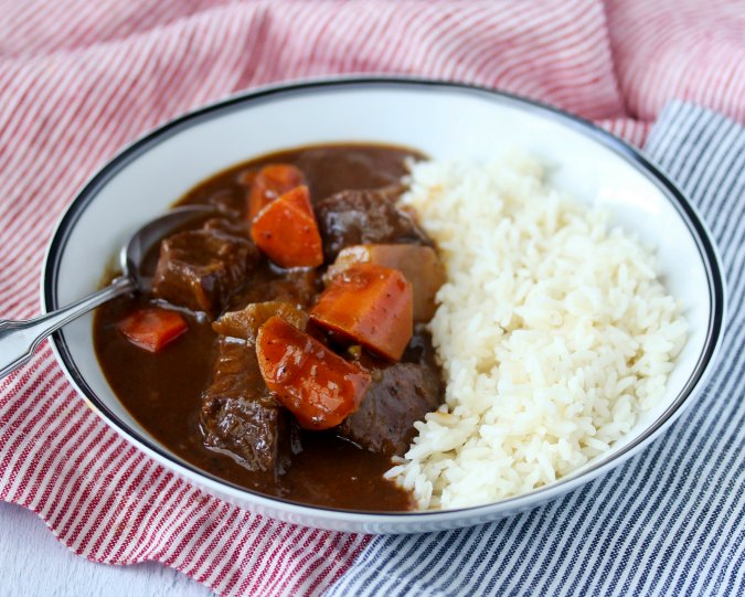 Japanese Beef Curry stew