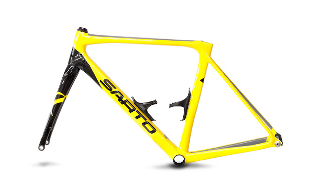 """SARTO ENERGIA TA, bici especialmente indicada para las pruebas de """"gran fondo""""."""