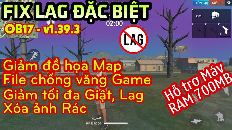 Free Fire OB17 APK LITE v4 bản đặc biệt│Tối ưu Đồ Họa & Chống văng game,Cực mượt cho máy yếu