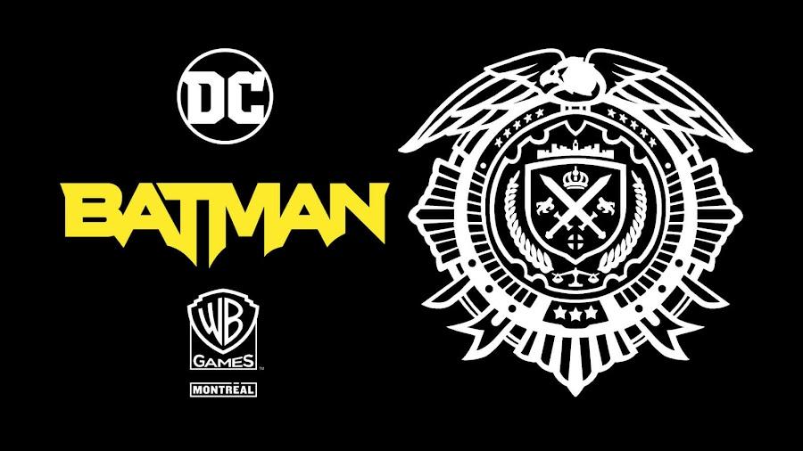 new batman game logo tease warner bros games montréal arkhamverse twitter