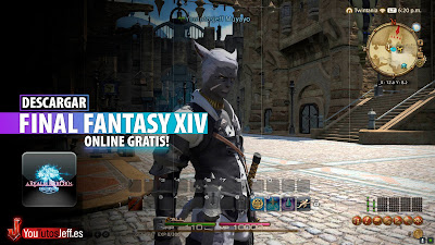 como descargar FINAL FANTASY XIV ONLINE gratis