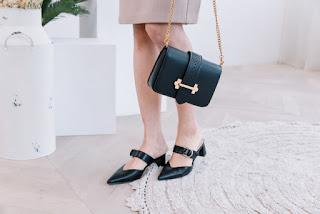 Giày bệt mũi nhọn nữ cao cấp