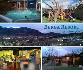 Berga Resort Camping con niños Barcelona