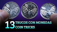 13 Trucos con monedas, MAGIA-CIENCIA, 13 Coins tricks