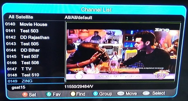 Can we add favourite TV channels in DD free dish?