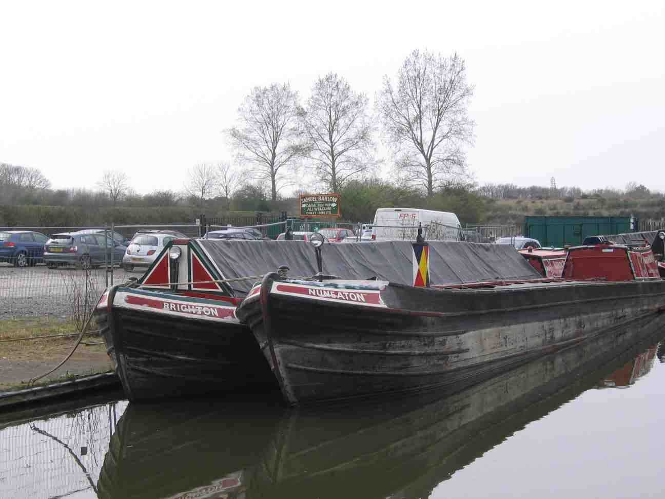 Narrowboat Densie: Tamworth And Fazeley Junction