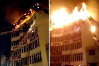 17 feared dead as fire breaks out in Karol Bagh hotel in Delhi