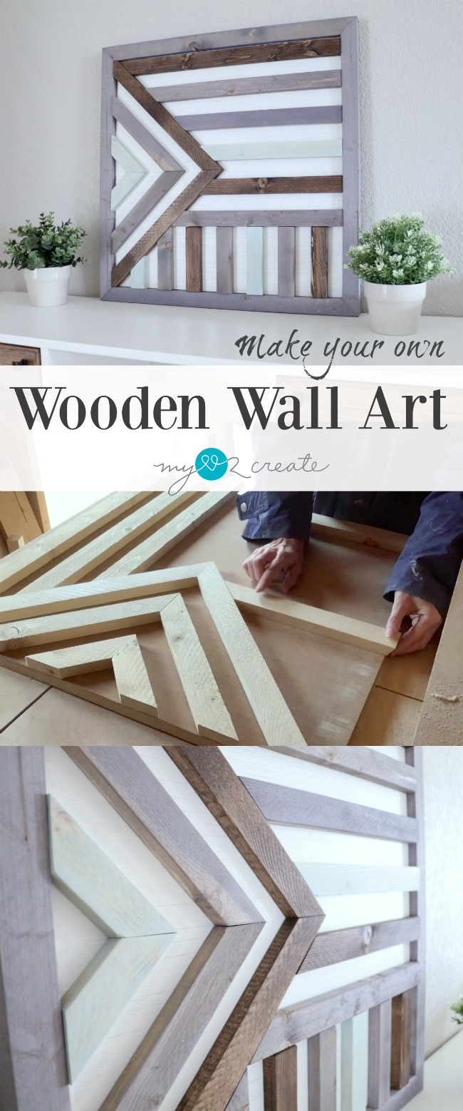 How to make art from wood