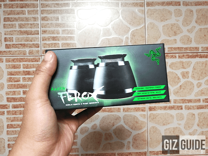 Raffle: Win A Brand New Razer Ferox Gaming Speakers!