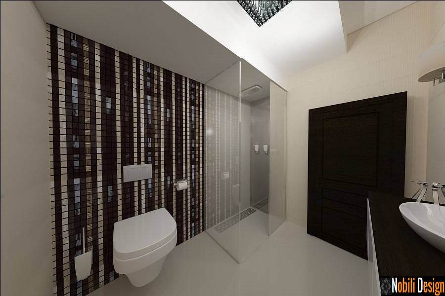 Design interior baie case moderne - Bucuresti