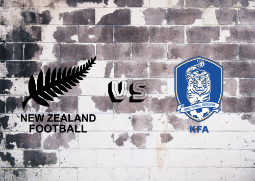 New Zealand  vs Korea Republic  Resumen
